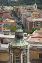 Rooftop view of Rome, Italy. Stock Photos