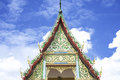 Rooftop wat in phichit thailand Royalty Free Stock Image