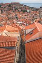 Rooftops of Dubrovnik Old Town Royalty Free Stock Photo