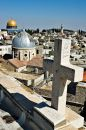 Rooftops of Jerusalem Stock Photo
