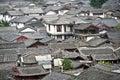Rooftops lijiang old town china s yunnan province Royalty Free Stock Photos