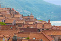 Rooftops in the old town. Dubrovnik. Croatia Royalty Free Stock Photo