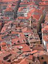 Rooftops of old town, Nice Royalty Free Stock Image