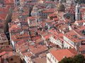 Rooftops of old town, Nice Stock Photography