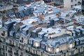 Rooftops in Paris Royalty Free Stock Photography
