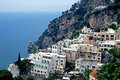Rooftops in Positano Royalty Free Stock Images