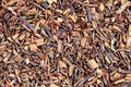 Rooibos tea macro Royalty Free Stock Image