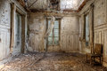 Room of Decay Royalty Free Stock Photo