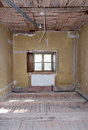 Room repair renovation of a house view of a under Royalty Free Stock Photo