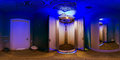Room with solarium Royalty Free Stock Photo