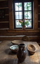 Room with table on the old weekend cottage 4 Royalty Free Stock Photo