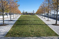 Roosevelt four freedoms park new york city on island Stock Photos