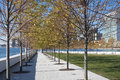 Roosevelt four freedoms park new york city on island Stock Photography