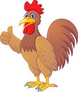 Rooster cartoon Royalty Free Stock Images