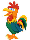 Rooster cartoon illustration of Stock Photography