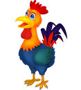 Rooster cartoon illustration of Royalty Free Stock Image