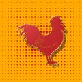 Rooster,domestic animals,background,illustration