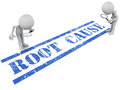 Root cause analysis Royalty Free Stock Images