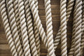 Rope brown texture background Stock Images