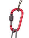 Rope with carabiner