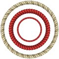 Rope circular set of realistic vector eps Stock Photography
