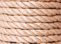 Rope coil background natural Royalty Free Stock Photos