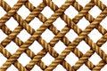 Rope Grid Pattern