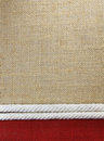 Rope with jute cloth texture background Royalty Free Stock Photos
