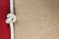 Rope with jute Royalty Free Stock Photo