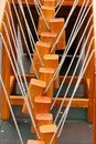 Rope ladder steps of a Royalty Free Stock Image