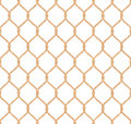 Rope marine net pattern seamless vector on white background Royalty Free Stock Images