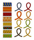 Rope pattern brush Royalty Free Stock Images