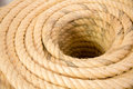 Rope rolled  closup Royalty Free Stock Photo