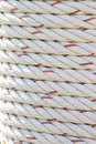 Rope round texture and background Royalty Free Stock Image