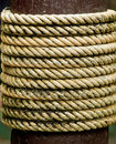 Rope tied Royalty Free Stock Images