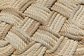 Rope weave. Royalty Free Stock Images