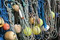 Ropes and floats Royalty Free Stock Photo