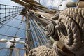 Ropes and rigging Stock Photography