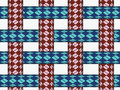 Ropes seamless pattern Royalty Free Stock Photo