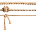 Ropes set isolated Royalty Free Stock Photo