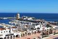 Roquetas de Mar Harbour. Royalty Free Stock Photo