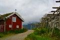 Rorbu - Reine, Norway Royalty Free Stock Photo