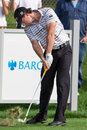 Rory McIlroy at the 2012 Barclays Royalty Free Stock Images