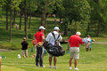 Rory mcilroy at the memorial tournament in dublin ohio usa Stock Photos
