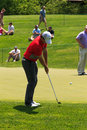 Rory mcilroy at the memorial tournament in dublin ohio usa Stock Photography
