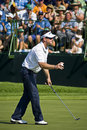 Rory Sabbatini Tossing Ball to Crowd - NGC2008 Stock Image