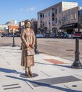 Rosa Parks Dedication Statue Royalty Free Stock Photo