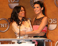 Rosario Dawson,Angie Harmon Stock Photos