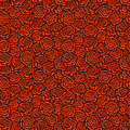 Rose background seamless pattern with roses vector illustration Stock Images