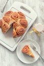 Rose cake Royalty Free Stock Photos